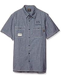 ALPHA INDUSTRIES INC 衬衫 【官方】 短袖 青年布衬衫 TS5093