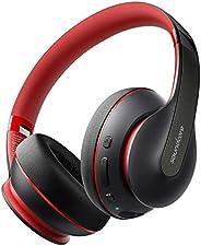Anker Soundcore Life Q10 无线蓝牙耳机,头戴式可折叠,高分辨率认证声音,60 小时播放时间和快速 USB-C 充电,深低音,辅助输入A3032012 中 黑色