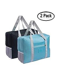 可折叠旅行行李袋 50.8 厘米轻质防水旅行行李袋(2 个装)