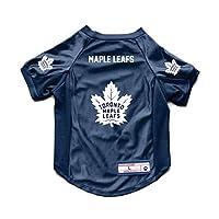 Littlearth NHL 多伦多枫叶宠物弹力球衣,XL 码