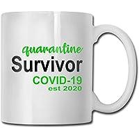 CORONAVIRUS 趣味咖啡杯 325 毫升 - 送给同事、老板、亲戚和朋友的*有创意和独特的礼物。