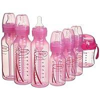 Dr Brown ' s 选项婴儿奶瓶礼品套装–蓝色 粉色