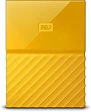 Western Digital 1TB 黃色My Passport便攜式外接硬盤-USB 3.0-WDBYNN0010BYL-WESN