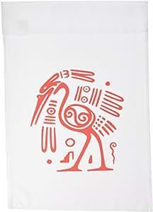florene ALL things 墨西哥–Ancient 墨西哥 motiff–旗帜 12 x 18 inch Garden Flag