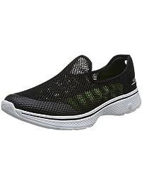 Skechers 斯凯奇 GO WALK 4 系列 男 轻质一脚蹬健步鞋 54158