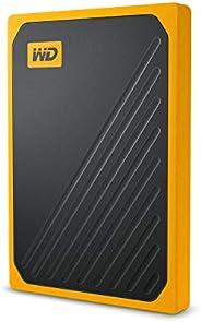 WD 1TB My Passport Go SSD 鈷便攜式外置存儲器WDBMCG5000AYT-WESN 500GB
