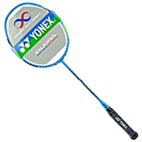 YONEX 尤尼克斯 中性 羽毛球拍全碳素单拍yy双刃 DUORA55 蓝绿(亚马逊自营商品, 由供应商配送)