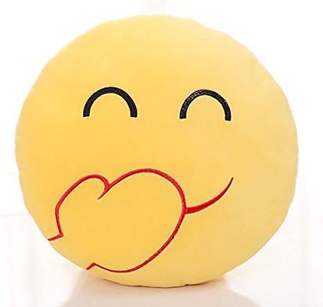表情 表情包抱枕表情可插手emoji毛绒玩具公仔滑稽笑脸娃娃玩偶靠垫圆  表情
