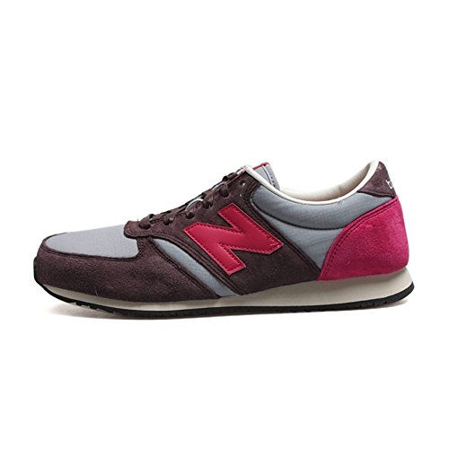 New Balance 男鞋 420 男鞋复古休闲跑步鞋 U420PRPP
