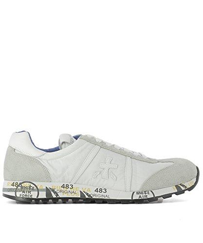 PREMIATA PREMIATA 男人 LUCY206E 白色 山羊皮 运动鞋 / 意大利直邮【亚马逊海外卖家】