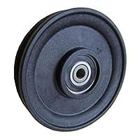 Fenner Drives RA4502 PowerMax 3/16 英寸(约 0.6 厘米)电缆滑轮,玻璃加固尼龙,17 毫米孔径,4.46 毫米外径,4.46 毫米宽