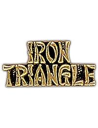 美国*越南战争铁三角 2.54 厘米翻领别针