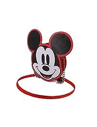 Karactermania 迪斯尼图标米奇老鼠宽链单肩包单肩包,20厘米,红色