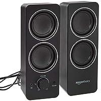 AmazonBasics 亚马逊倍感多媒体扬声器,有线,交流电源