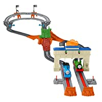 Fisher-Price Thomas & Friends TrackMaster,托马斯和佩西铁路赛车套装