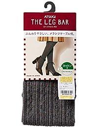 [ASTUGI] 紧身裤 Atsugi The Leg BAR(厚木) 【日本制】 相当于400丹尼尔 棉混纺 绞花花纹 紧身裤 厚木犬 女士