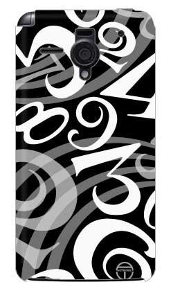 商品coverfull おしゃれな数字 黒×白 design by artwork / for图片
