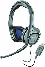 Plantronics .Audio 655 DSP USB 耳機,帶可懸掛式麥克風插桿