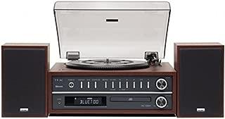 Teac MC-D800 (CH)立体声组合家用音响 播放器 / CD 系统(蓝牙、CD 播放器、USB、UKW / MW 调谐器、双路扬声器)木色