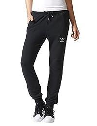 adidas Originals 阿迪达斯三叶草 女子 针织运动长裤 AY8127
