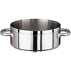 """Paderno World Cuisine """"Grand Gourmet"""" Stainless-steel 15-Quart Rondeau"""
