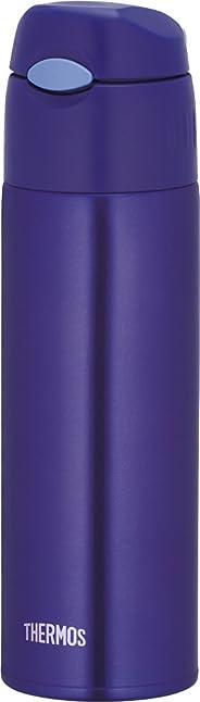 Thermos 真空保温吸管瓶 0.55 升 蓝色 FHL-550 BL