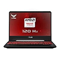 ASUS 华硕 TUF FX505 15.6 英寸全高清超薄边框游戏笔记本电脑FX505DY-AL006T  8GB RAM, 256GB SSD + 1TB HDD 15.6 Inch Full HD