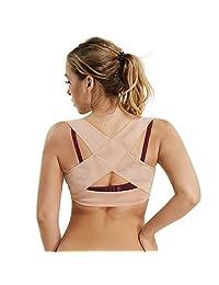 Joyshaper 女士胸部支撑塑形内衣胸背支撑 X 肩带文胸支撑塑形背心上衣