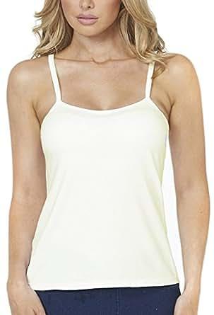 Alessandra B 钢圈平滑无缝罩杯经典吊带衫 象牙色 40D