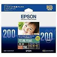 EPSON 照片用纸[光泽] KG 200张 KKG200PSKR