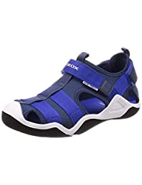 Geox 健樂士 Jr Wader A 封閉式涼鞋 Blau (Navy/Royal C4226) 39 EU