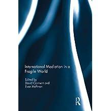 International Mediation in a Fragile World (English Edition)