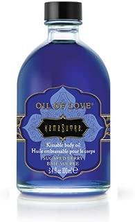 Kama Sutra Company 爱心油身体油,3.4 盎司 Sugared Berry 3.4