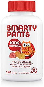 SmartyPants 貓頭鷹 兒童營養維生素軟糖 120粒(新老包裝隨機發貨)