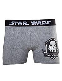 星球大战冲锋队拳击短裤(灰色) Medium 灰色 标准