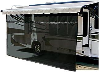 Carefree Drop RV 遮阳篷 EZ ZipBlocker 15' x 8' 黑色 701508