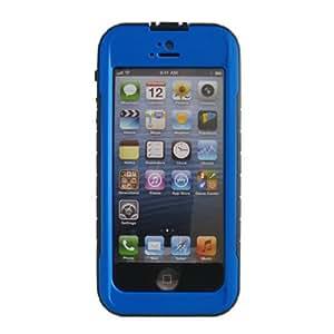 Keystone ECO WPS5-BLU-001 IPX8 Certified Slim Waterproof Case for iPhone 5-1 Pack - Retail Packaging - Blue