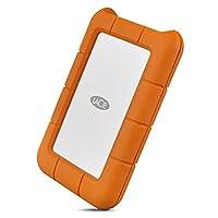 LaCie 莱斯 Rugged USB-C and USB 3.0 1TB Portable Hard Drive - STFR1000800
