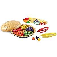 Learning Resources Super排序分类饼学习数数 精细电动玩具 68片 学前班/学龄3岁以上