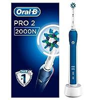 Oral-B 欧乐B Pro 2 2000N CrossAction 电动牙刷 可充电 由Braun提供动力 1个手柄 2种模式(包括牙龈护理) 1个牙刷头 2针UK插头