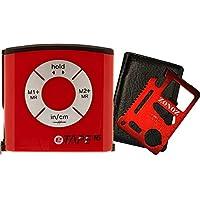 eTape16 ET16.75-DB-RP 数字胶带测量,16',红色,英寸和公制