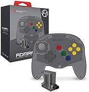 """Hyperkin""""Admiral""""高级BT控制器,适用于N64(太空黑)- Nintendo 64"""