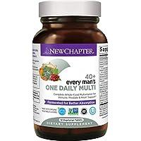 New Chapter 男士復合維生素,每個人每天一粒 40+,用鋸棕櫚+ B維生素+維生素D3 發酵-72粒