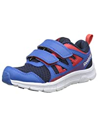 Reebok 男孩 Run Supreme 2.0 2 V 慢跑鞋