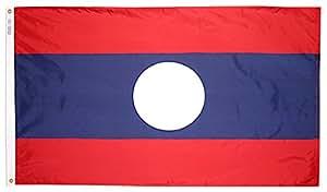 Annin Flagmakers 尼龙太阳镜纽约热洛斯旗帜 3x5' 194591