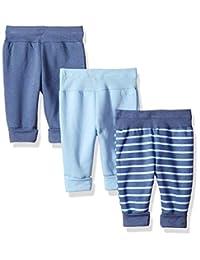 Hanes Ultimate Baby Flexy 3 件装可调节抓绒慢跑裤