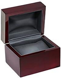 Diplomat 32-16701 樱桃木皮革盒手表