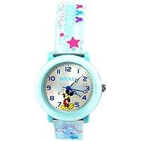 Disney 迪士尼 手表01051米奇儿童行针表蓝壳