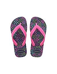 havaianas 哈瓦那 女童 时装凉鞋 Kids Flores(亚马逊进口直采,巴西品牌)