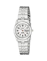 citizen women's eq0510-58a analog display japanese quartz silver watch